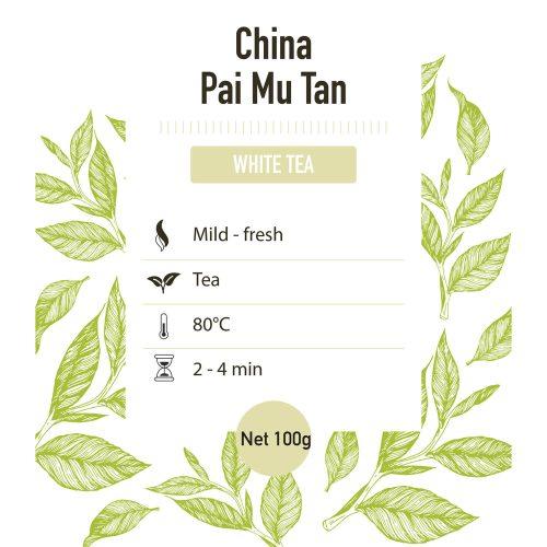 Witte thee – China Pai Mu Tan grade 1 - detail