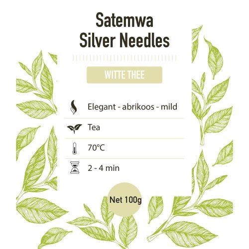 Witte thee – Satemwa Needles - detail