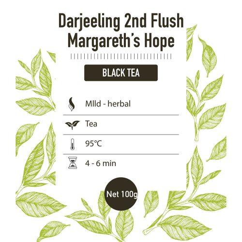 Zwarte thee – Darjeeling 2nd flush Margeret Hope - detail