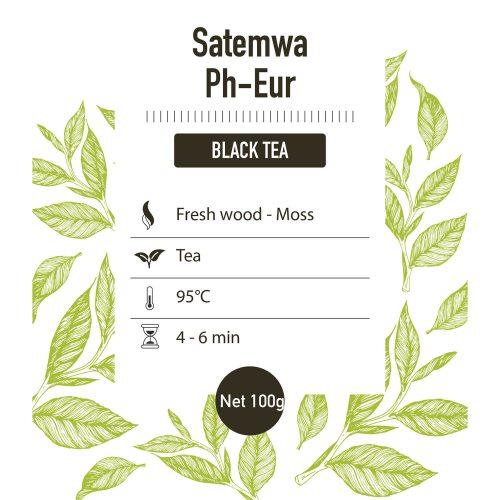 Zwarte thee – Dark Teas Ph-Eur - detail