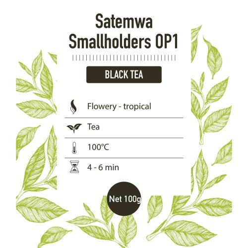 Zwarte thee – Satemwa OP1 - detail