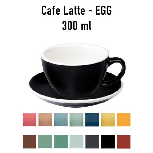Loveramics - Egg - Latte kop- & schotelset