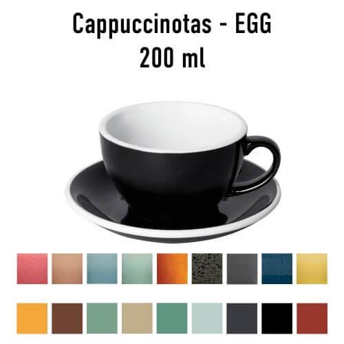Loveramics – Egg – Cappuccino kop- & schotelset