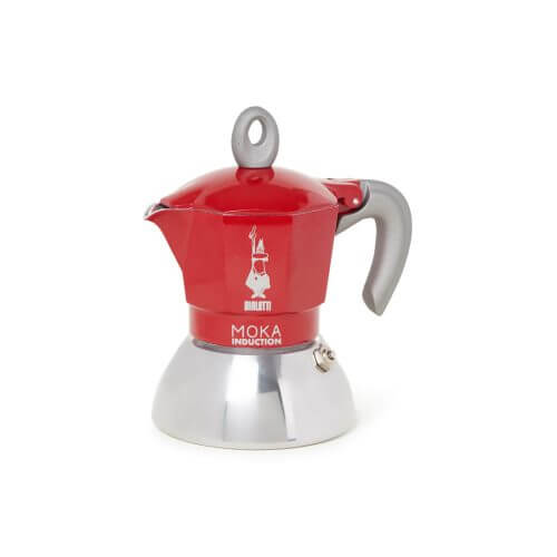 Bialetti - Moka Inductie - Red - 2 cups
