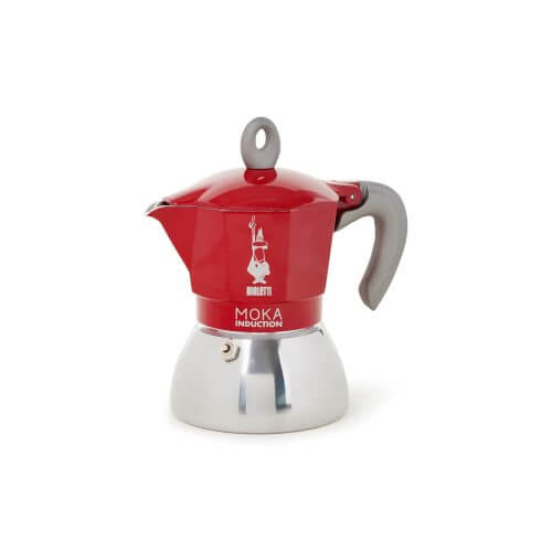 Bialetti - Moka Inductie - Red - 4 cups
