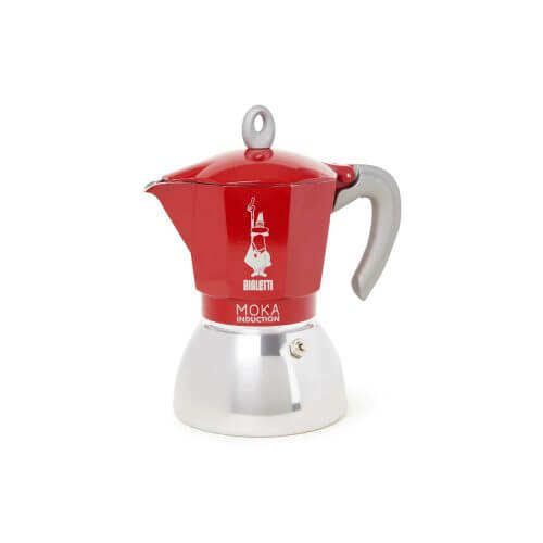 Bialetti - Moka Inductie - Red - 6 cups
