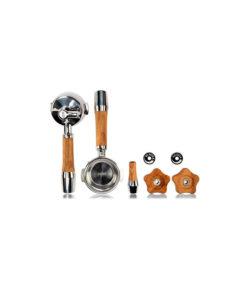 ECM - 5 delige olijfhouten accessoire set (draaiknop)