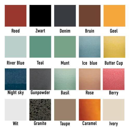 Nomad kleuren
