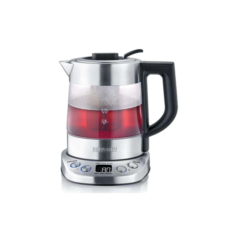 Severin - Wk 3473 Digital Glass Tea-Maker Deluxe Mini
