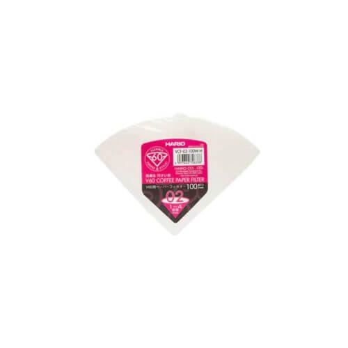 Hario - Filterpapier - V60 - 02 - 100 stuks - NL