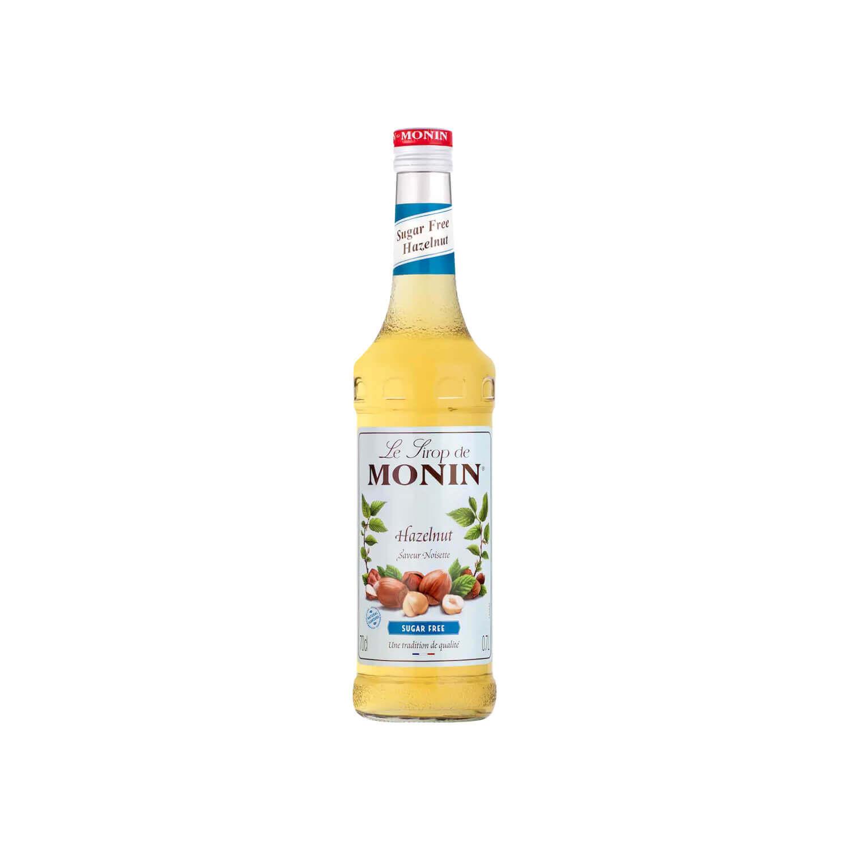Monin - Siroop - Hazelnoot - Suikervrij - 700 Ml