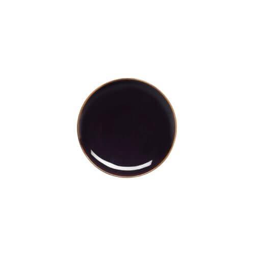 Loveramics - Studio - Side plate - Black - 18 cm - (6 stuks)