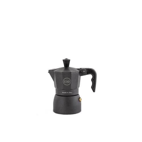 E&B - IMS - Moka pot - Classic - Black sandblasted - 1 Cup