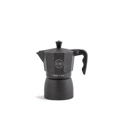 E&B - IMS - Moka pot - Classic - Black sandblasted - 3 Cups