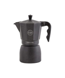E&B - IMS - Moka pot - Classic - Black sandblasted - 6 Cups
