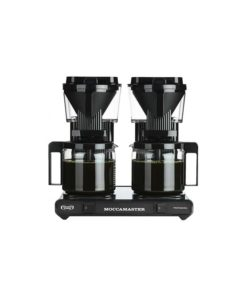 Moccamaster - koffiezetter - KBG744 - Met dubbele thermoskan (Zwart)